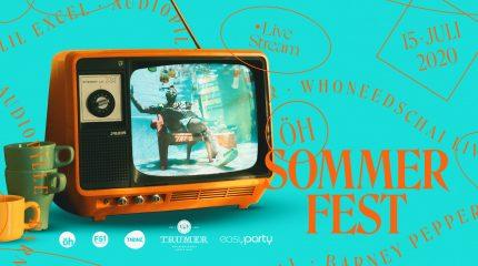ÖH Sommerfest Corona Edition: 15. Juli Live auf FS1