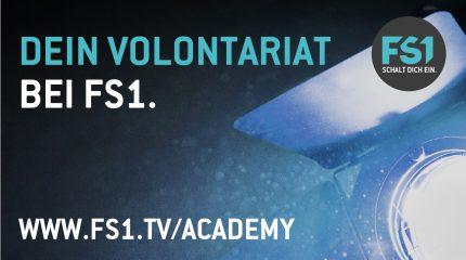 Dein Volontariat bei FS1