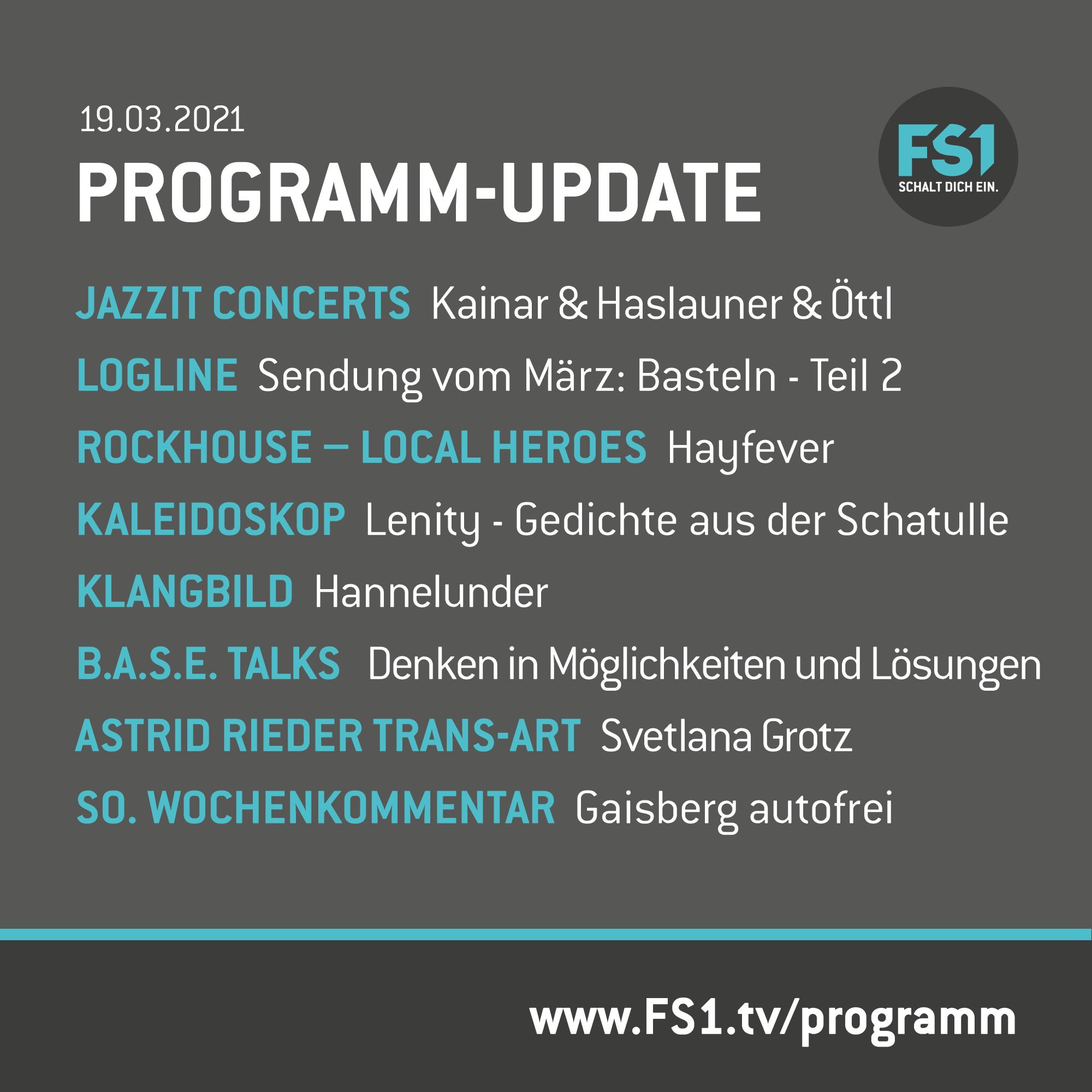 Programm Update