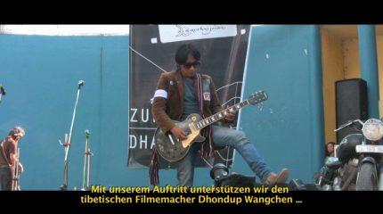 Let´s talk about free Tibet. Schalt ein.