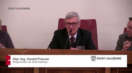 Stadtpolitik auf FS1: Gemeinderatssitzung vom 7. Februar