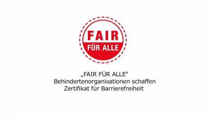 Barrierefreiheit: Fairness für Alle