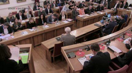 Gemeinderat Stadt Salzburg | 6. Sitzung vom 24. Oktober