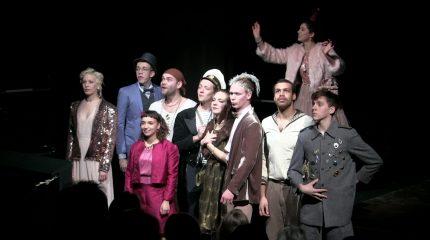 Mozarteum-Theateraufführung: Milchstraße