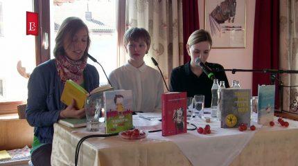 Rauriser Literaturtage | Sarah Michaela Orlovský, Daniel Wisser & Susanne Fritz