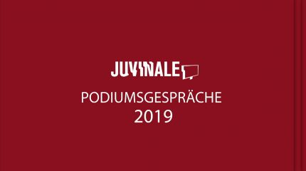 """JUVINALE Podiumsdiskussion """"It's a wrap"""""""