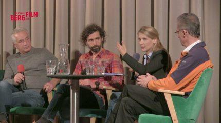 "Bergfilmfestival 2019 | Podiumsdiskussion ""Overmountaineering"""