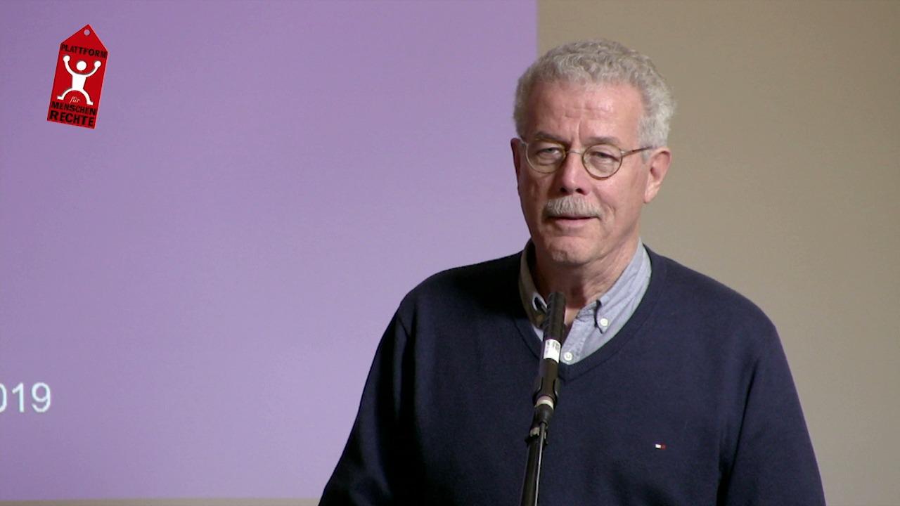 Plattform für Menschenrechte | David Becker: Vertrieben und verletzt
