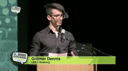 Jugend-Redewettbewerb | Dennis Grömer, Larissa Delago & Sandra Aigner