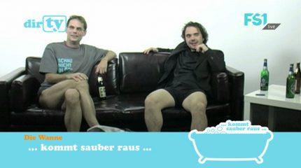 Neue Folge auf FS1: dirTV diesmal von der Couch aus immer um 10:30 und 20:30 Uhr im Programm