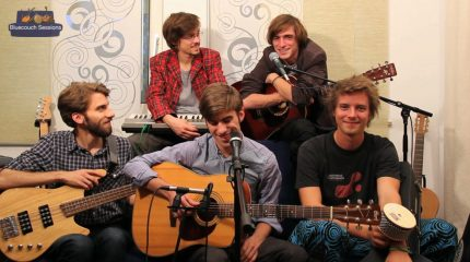 Bluecouch Session mit Chili and the Whalekillers heute um 18:10 Uhr auf FS1