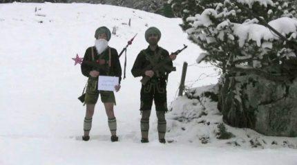 FS1 Weihnachtsfeier mit den Bavarian Taliban am 13. Dezember