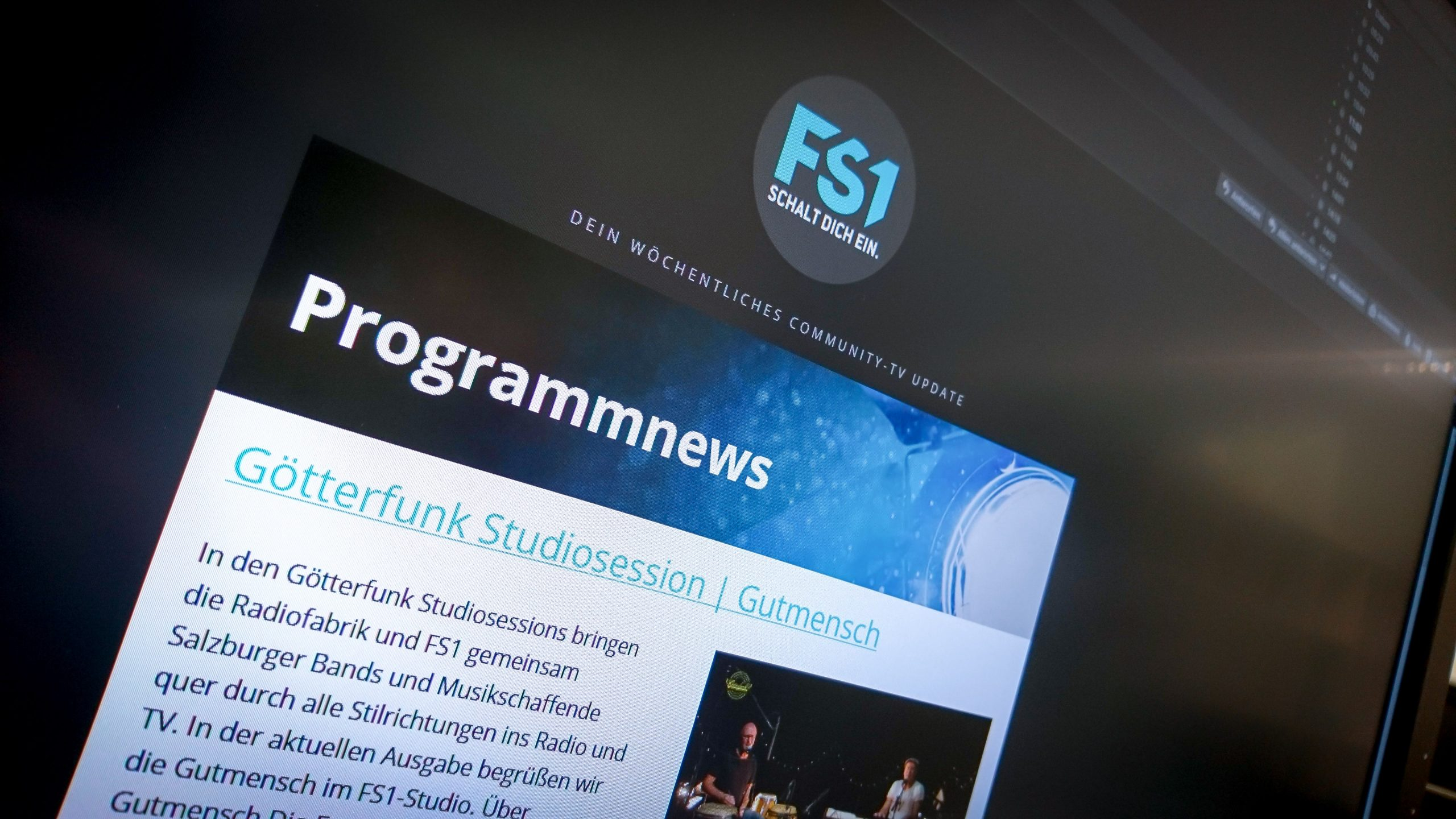 Programmnews Email