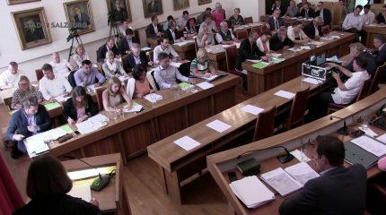 Gemeinderat Stadt Salzburg | 4. Sitzung vom 04. Juli 2018