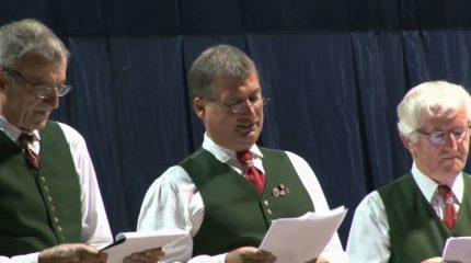 Ein Konzert der besonderen Art vom Männergesangsverein Lamprechtshausen um 14:00 und 24:00 Uhr auf FS1