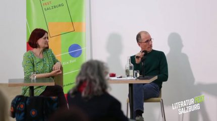 Literaturfest | Macht und Mitgefühl: mit Hans Platzgumer und Ursula Wiegele