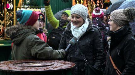 Logline: Live vom Christkindlmarkt
