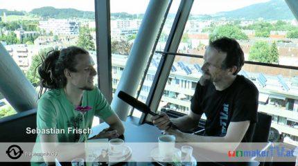 Maker TV im Oktober | Sebastian Frisch: Der Soundgärtner für Seelenlandschaften. Fall rein.