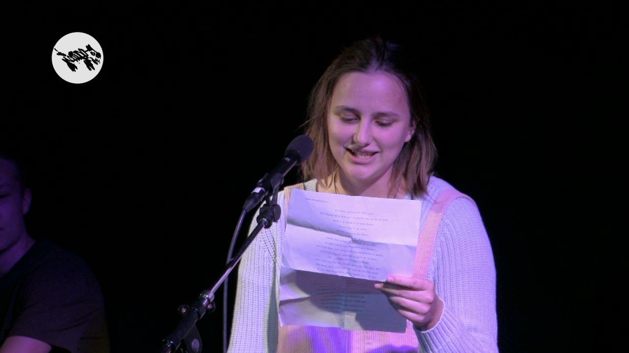 PoetrySlam Isabel Schmidlechner