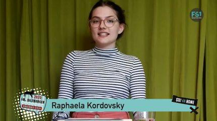 Jugendredewettbewerb 2020 | Raphaela Kordovsky, Sophia Url, Siri Sampl & Simon Prodinger