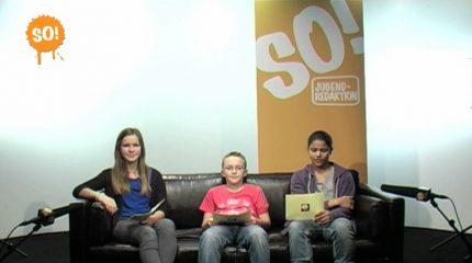 Neue Folge auf FS1:  SO!TV mit der dritten Ausgabe um  10:45 und 18:45 Uhr im Programm
