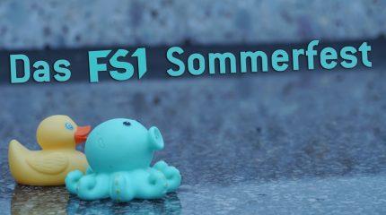 4 Jahre FS1 | Dein Sommerfest am 1. Juli. Tanz ab.