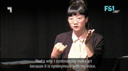 Neue Folge auf FS1: Der subnetTALK mit Christine Sun Kim
