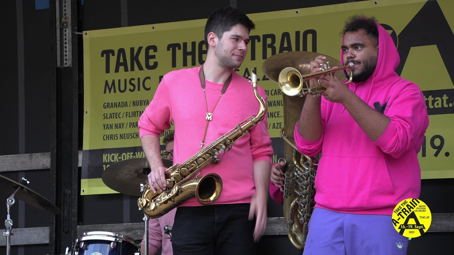 TakeTheA Train Brassbeat 01