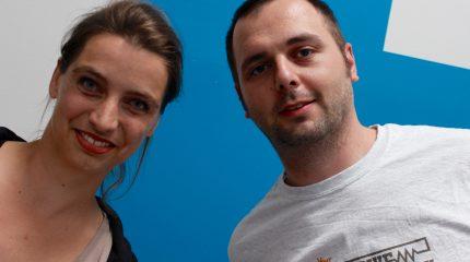 Neu im Team von FS1: Ines Hickmann & Alex Huemer