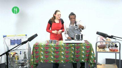 Programm-Tipp: Die Studioküche diesmal mit Beatrice Mufanga Nsabua Ntwanya als Gastköchin