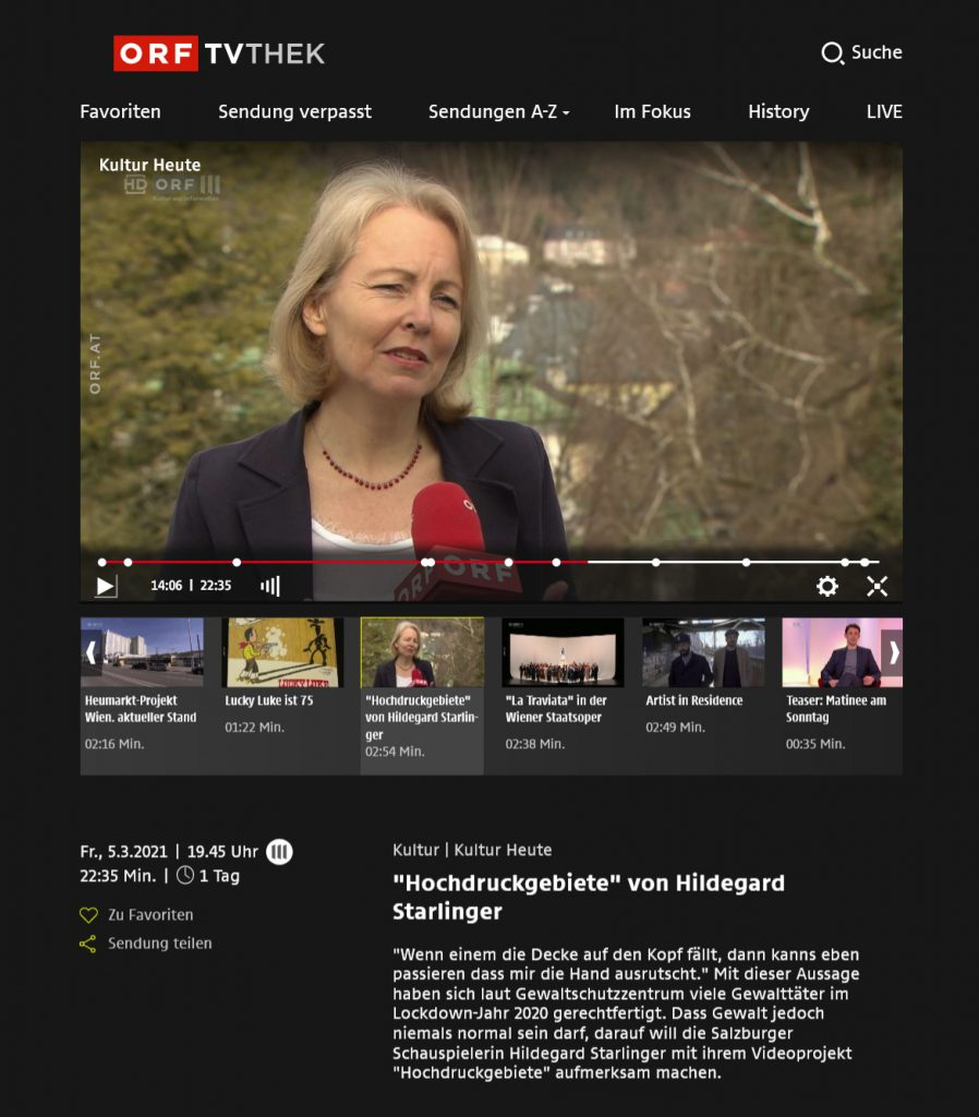Berichterstattung ORF, Kultur Heute