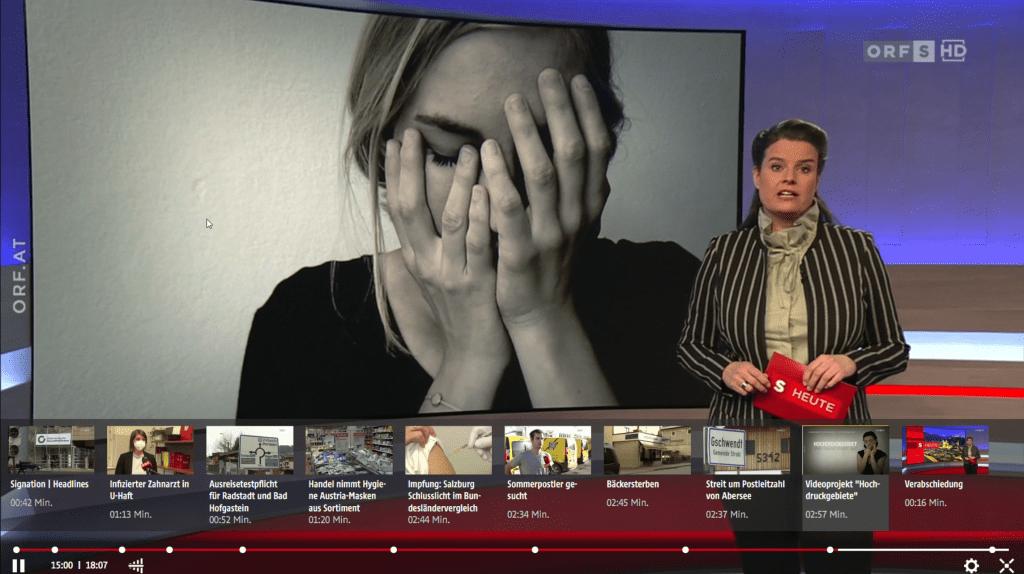 Berichterstattung ORF, Salzburg Heute