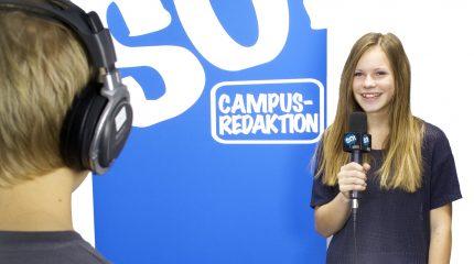 FS1 präsentiert: Die SO!-Campusredaktion – Fernsehen als Lehrform