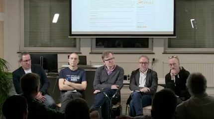 COMMIT Podiumsdiskussion | Hände weg von unseren Daten