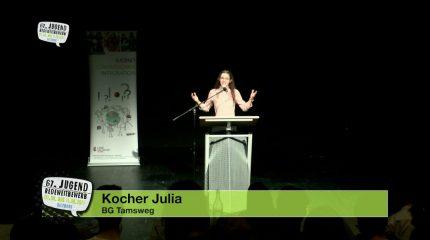 Jugend-Redewettbewerb | Siri Sampl, Joshua Kaspar, Raphaela Kordovsky & Julia Kocher