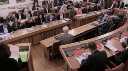 Gemeinderat Stadt Salzburg | 1. Sitzung vom 06.02.