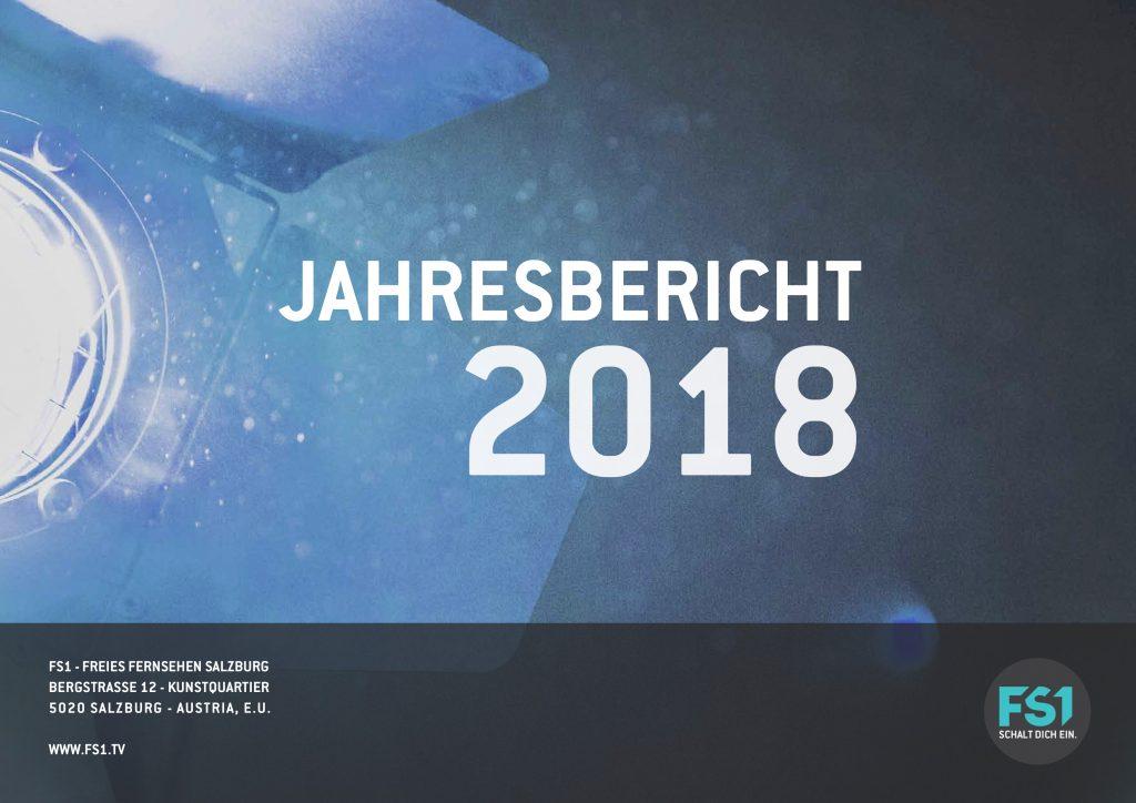 FS1 Jahresbericht 2018 Frontpage