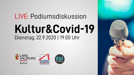 Kultur On Tour | Podiumdiskussion: Kultur & Covid-19