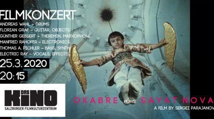 Echtzeitfilmvertonung live vor der Leinwand | Okabre plays Sayat Nova
