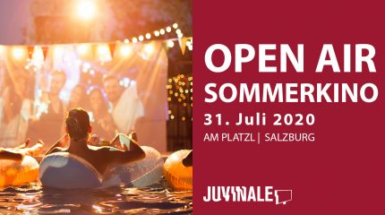 JUVINALE Open Air Sommerkino: 31. Juli 2020 am Platzl