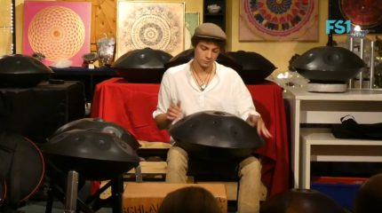 Handpan-Music in Mattsee