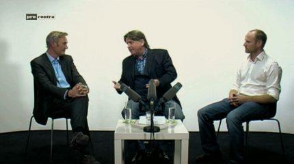 Neue Folge auf FS1: Die Sendung Pro & Contra zum Thema e-Mobilität immer um 9:15 und 19:15 im Programm