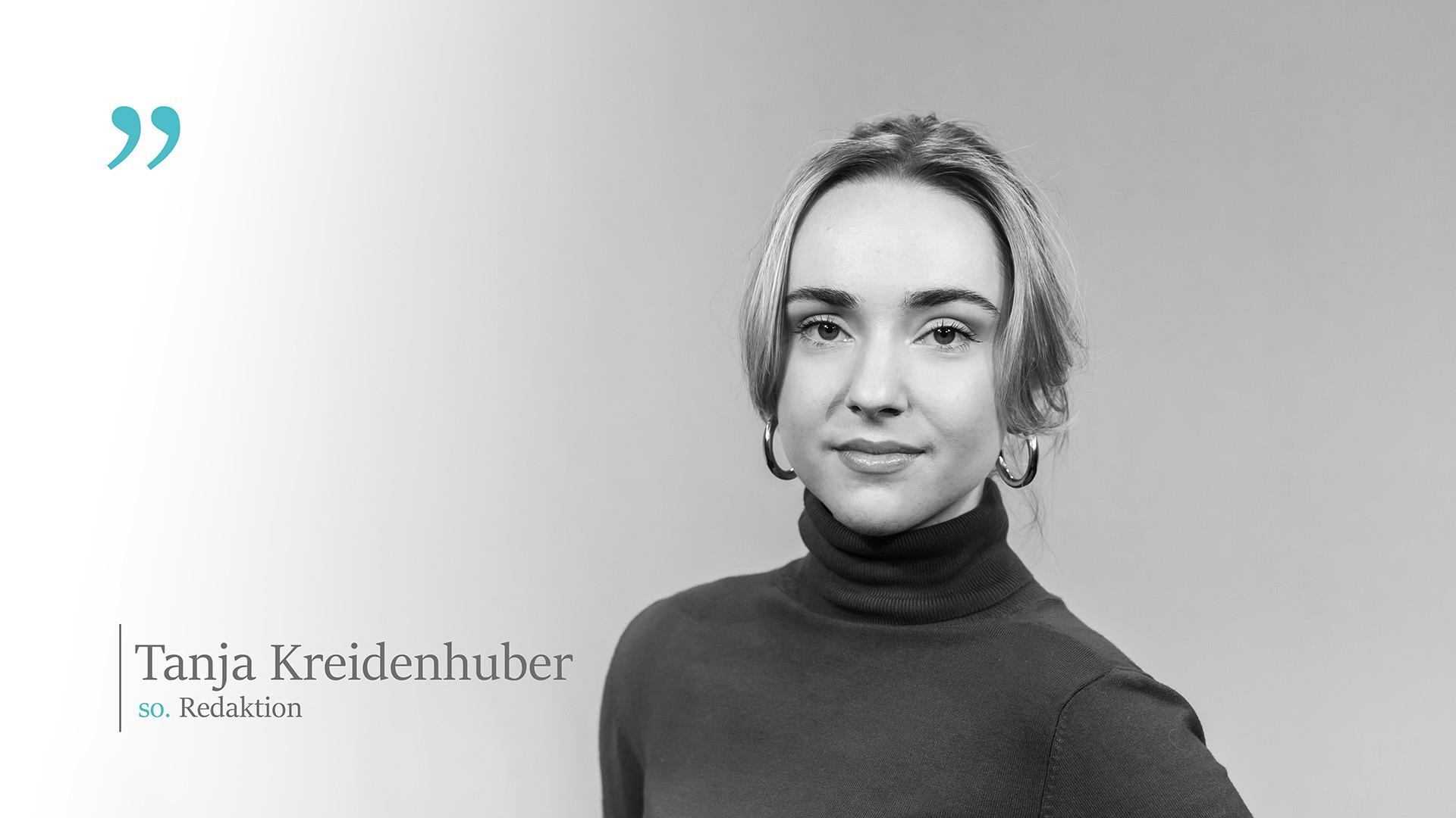 so. Der Wochenkommentar mit Tanja Kreidenhuber