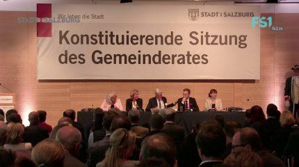 Gemeinderat Salzburg | Angelobung aus dem Kongresshaus