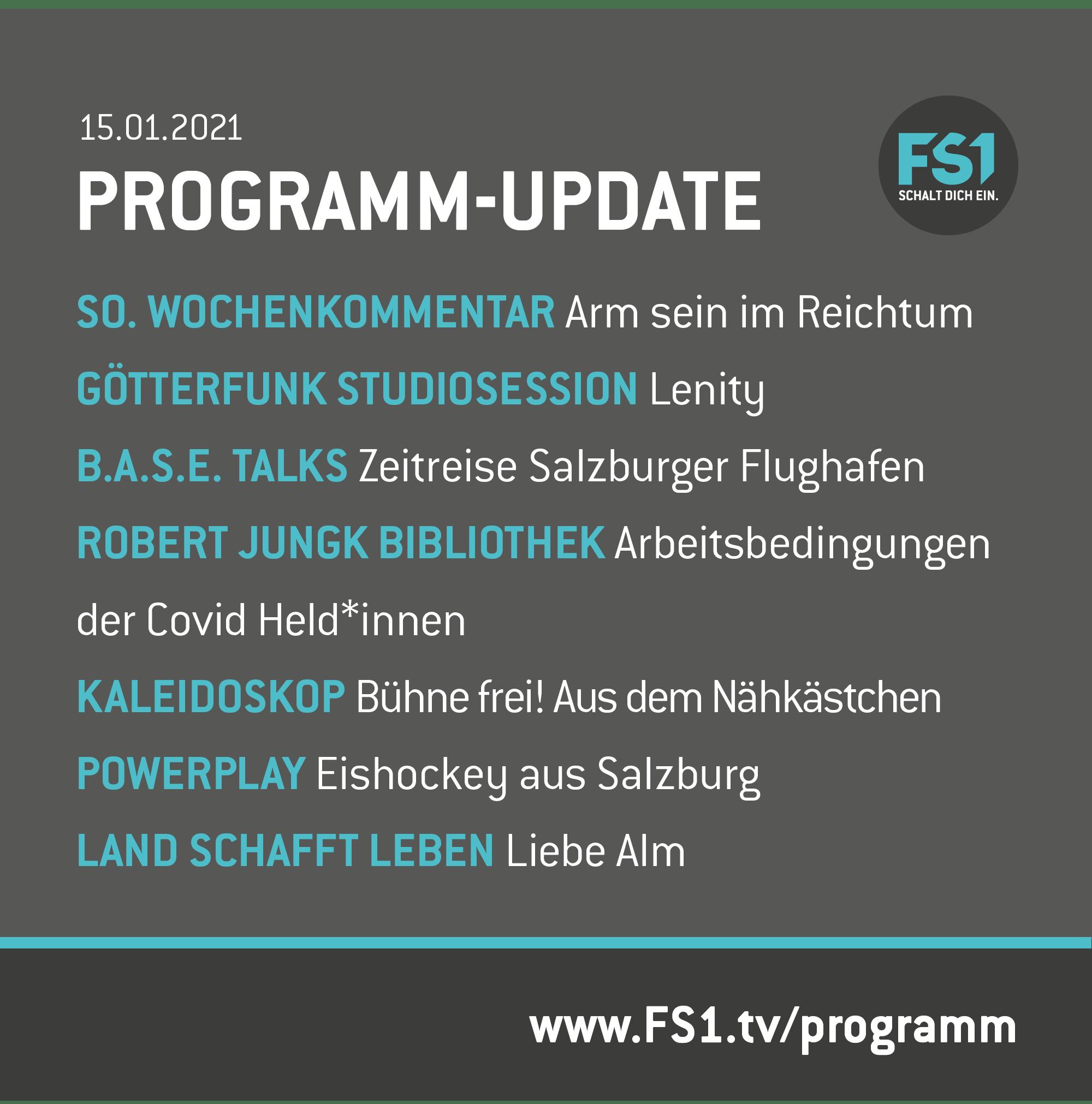 Programm-Update 150121